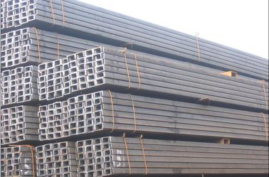 China Hot Rolled Long Steel Channel / Channels of Mild Steel Products supplier