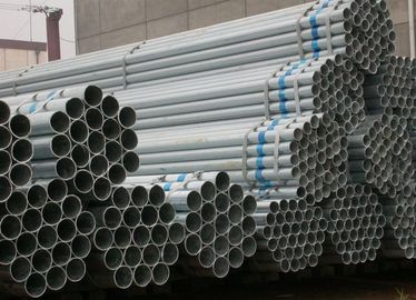 China Round, Square, Rectangle Galvanized or Coated with Oil Welded Steel Pipe / Pipes supplier