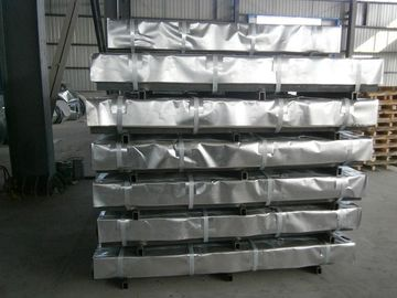 China Zinc Hot Dipped Galvanized Steel Sheet / Sheets , Passivated ( Chromated ) distributor