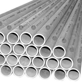China 5.8M / 6M Length Seamless Stainless Steel Pipe With JISG3467, DIN17175, GB5310 distributor